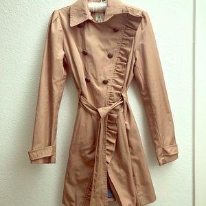 Anthropologie Elevenses Trench Raincoat - Size 6